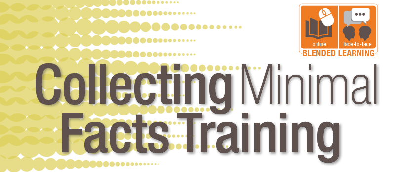 Collecting Minimal Facts Training